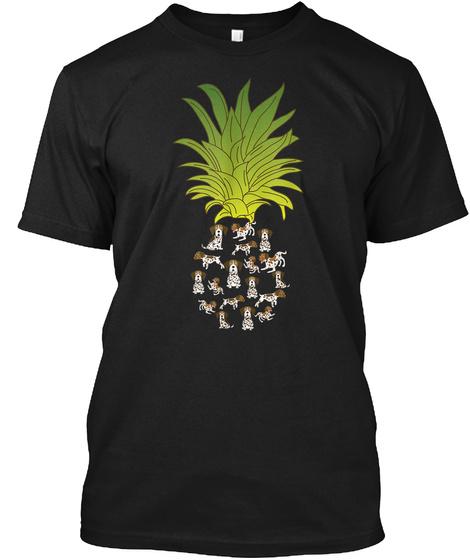 German Shorthair Pointer Gift Dog Owner  Black T-Shirt Front