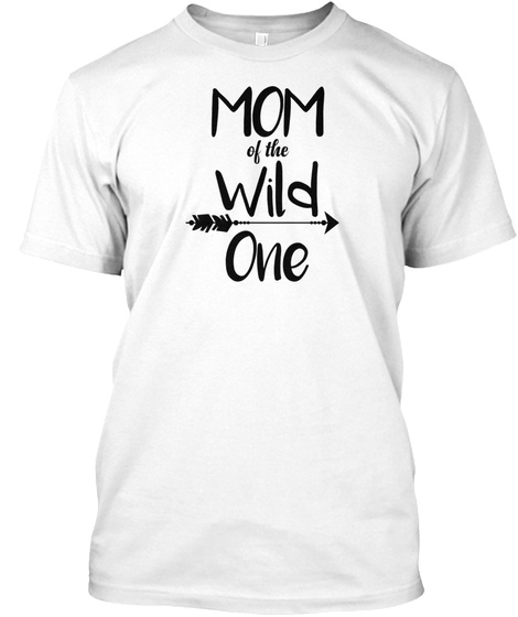 2846d2e5 Womens Mom Of The Wild One Cute 1st Birt Products from Mom of The ...