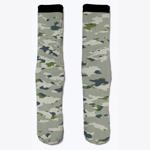 Military Camouflage   Arctic Tundra Iv Standard T-Shirt Front
