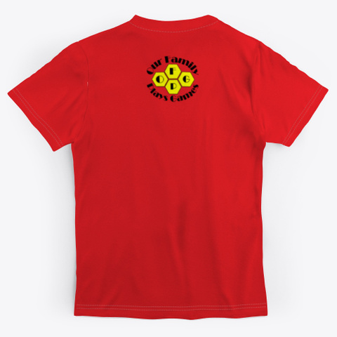 Ofpg   The Dice Ain't Nice Red T-Shirt Back