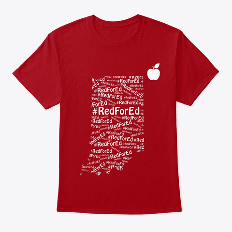 RED FOR ED INDIANA TEACHER T-SHIRT Unisex Tshirt