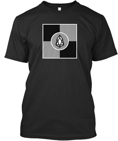 Eos Squared Tee  Black T-Shirt Front