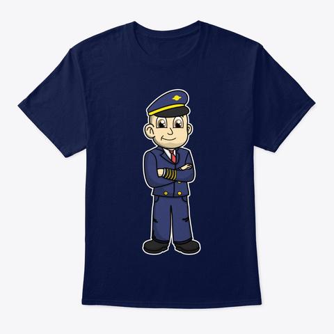 No Slack Novak Pilot Gear Navy T-Shirt Front