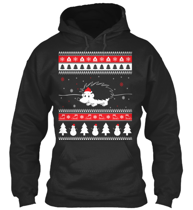 Hedgehog Christmas Sweater.Details About Unique Hedgehog Ugly Christmas Sweater Standard College Standard College Hoodie