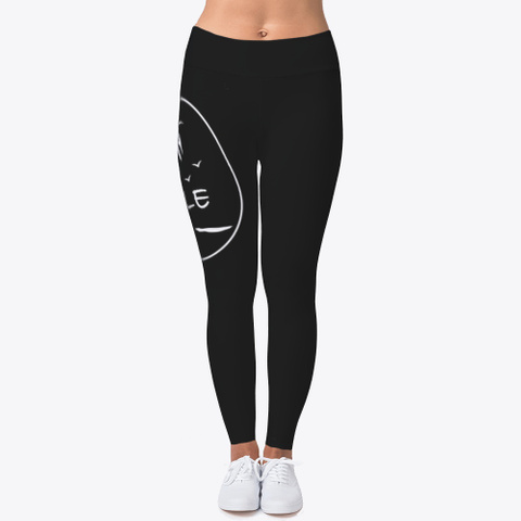 Smiley Pants Black T-Shirt Front