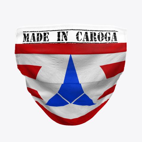Made In Caroga Mask Standard Camiseta Front
