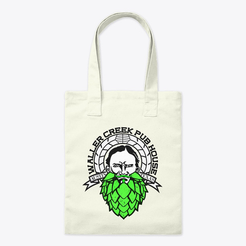 Home Of My Beerded Friend Tot Bag Natural T-Shirt Front