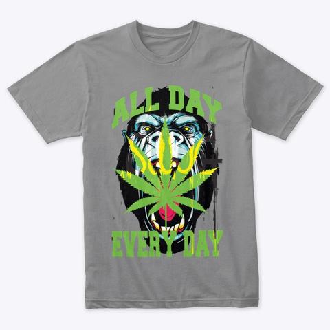 Gorilla Warfare Premium Heather T-Shirt Front