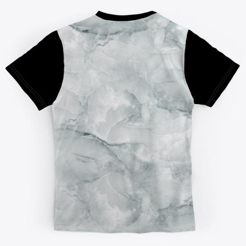 Tiger Power | Tie Dye Tiger Design Black T-Shirt Back