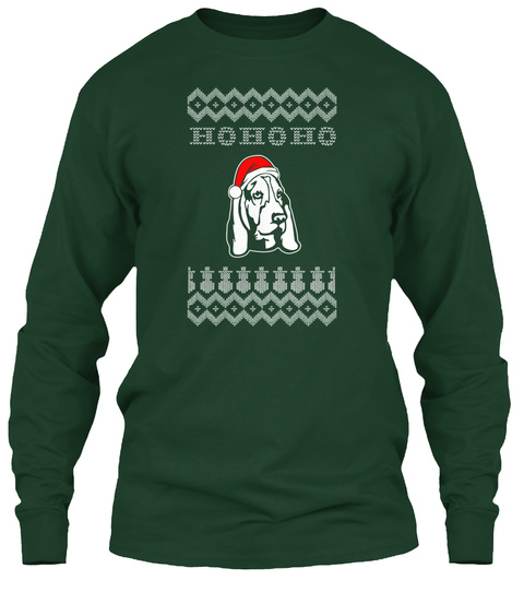 Hohoho Forest Green T-Shirt Front