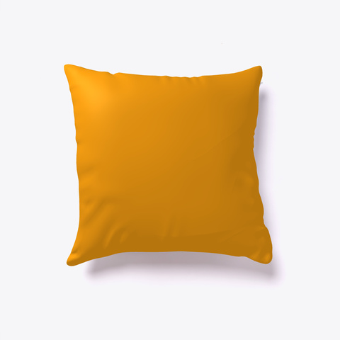 """Talk Is Cheap"" Pillow  Orange T-Shirt Back"