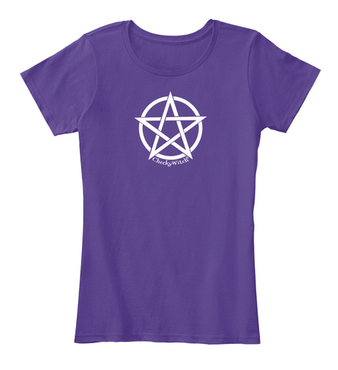 Cheeky Witch Purple T-Shirt Front