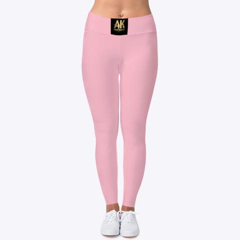 Ak Ent Wear Pink T-Shirt Front