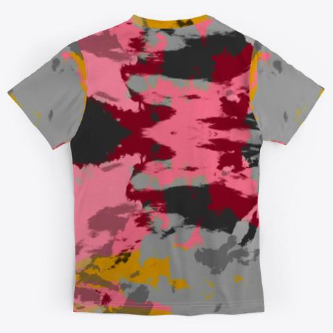 Katsuchiyo   Abstract Batik Mandala Art Standard T-Shirt Back