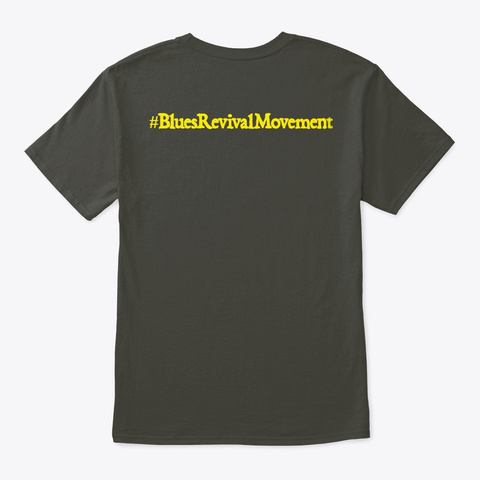 #Brm Smoke Gray T-Shirt Back