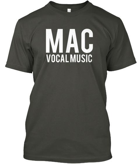 Mac Vocal Music Smoke Gray T-Shirt Front