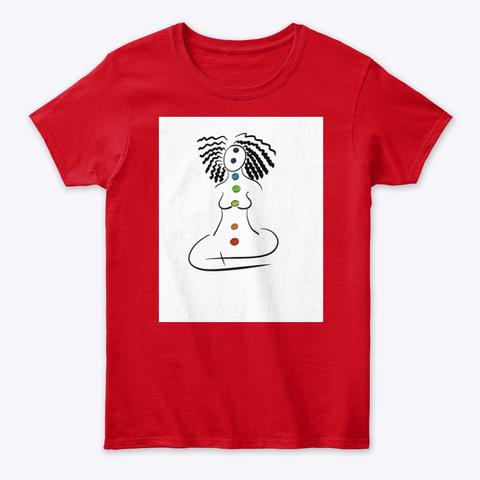 Chakra   Locs Red T-Shirt Front