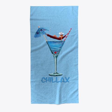 Chillax Light Blue T-Shirt Front