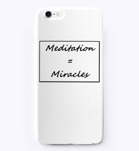 Meditation Miracles Standard T-Shirt Front