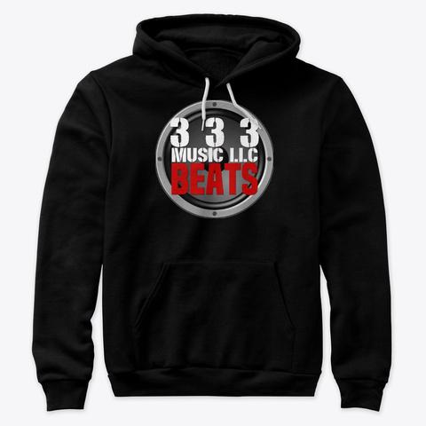333 Beats Logo Black T-Shirt Front