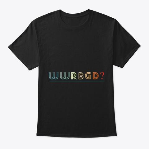Ruth Bader Ginsburg Rbg Black T-Shirt Front