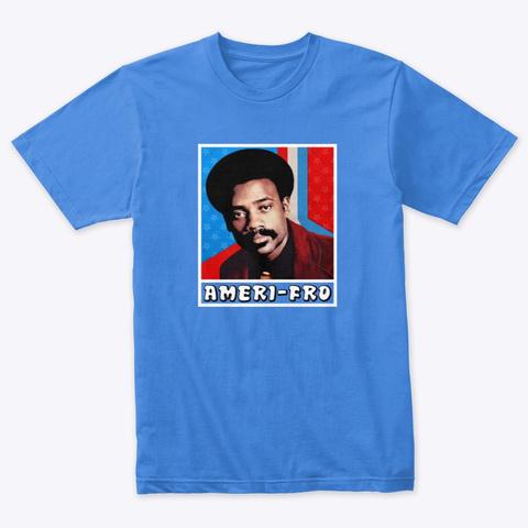 Vintage Jesse Ameri Fro Shirt!  Vintage Royal T-Shirt Front
