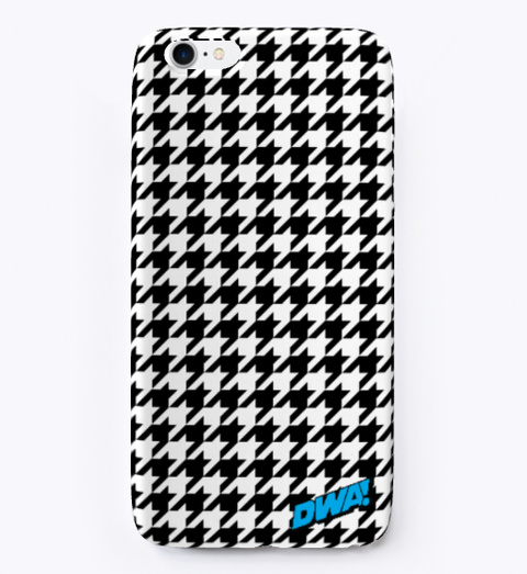 Dwa! Houndstooth I Phone Case Standard T-Shirt Front