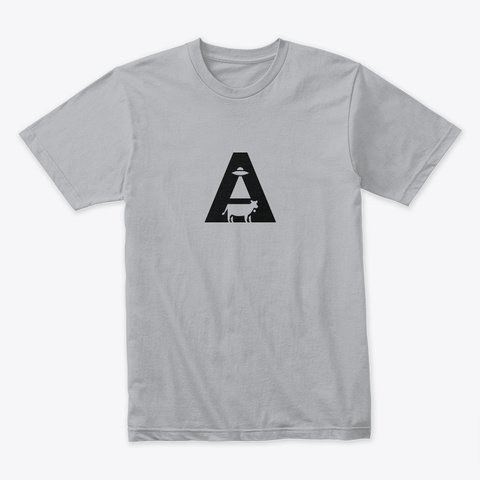 Alien Abduction 2 🚀 #Sfsf Heather Grey T-Shirt Front