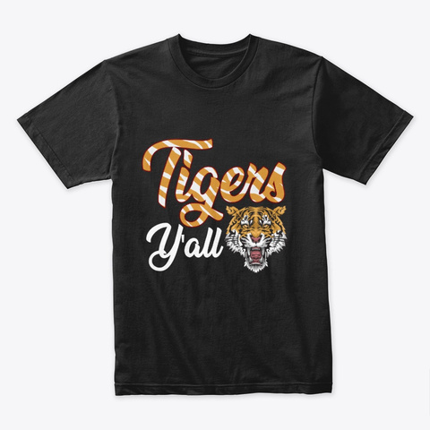 Tiger Shirt Black T-Shirt Front