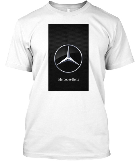 Amg Racing Mercedes 3 White T-Shirt Front