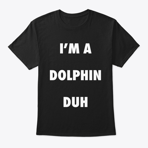 Easy Halloween Dolphin Costume Shirt For Black T-Shirt Front