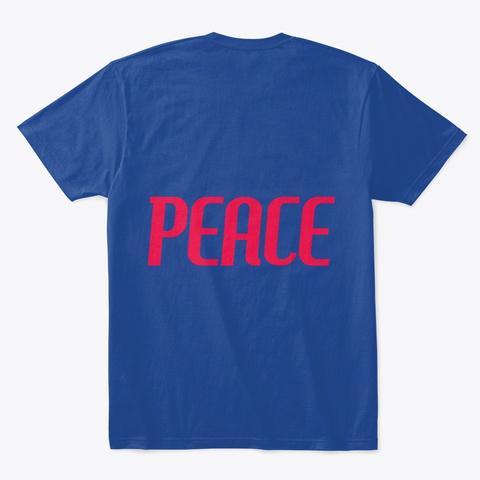 Camiseta De Qualidade Deep Royal Camiseta Back