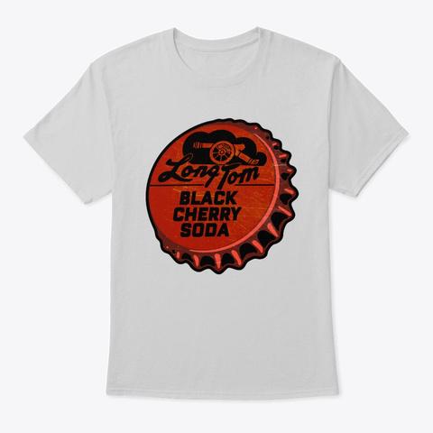 Vintage Long Tom Soda Bottle Cap Light Steel T-Shirt Front