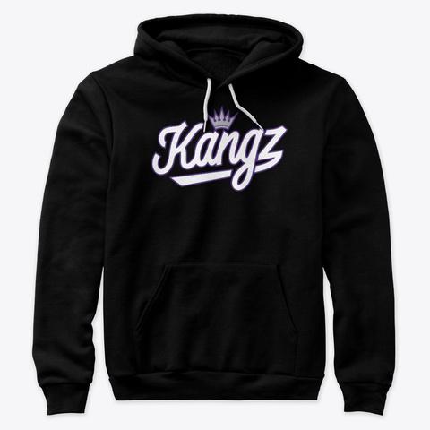Kangz! Shirt (Classic Black) Black T-Shirt Front