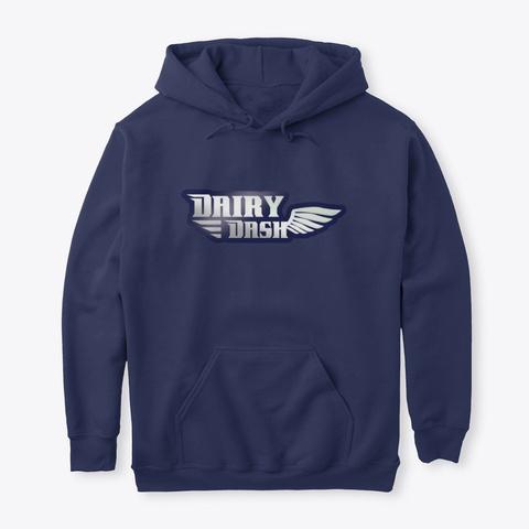 Dairy Dash  Navy T-Shirt Front