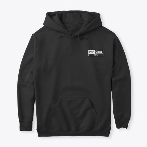 Pn P   Core Sdk   Small Logo Black T-Shirt Front
