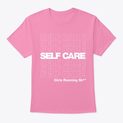 Censored Grs Self Care Gear. Pink T-Shirt Front