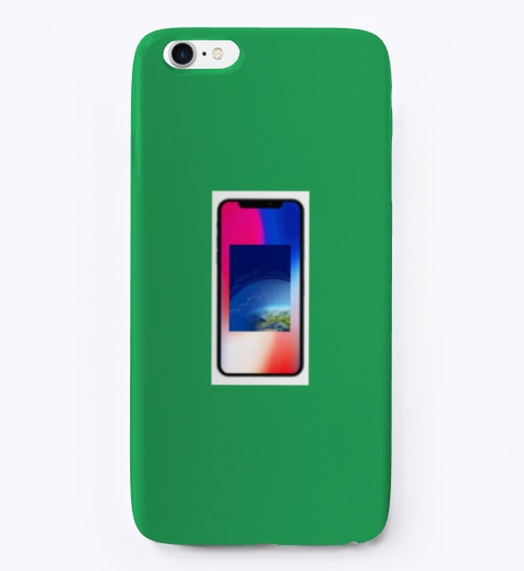 Iphone Case Sizes Green T-Shirt Front