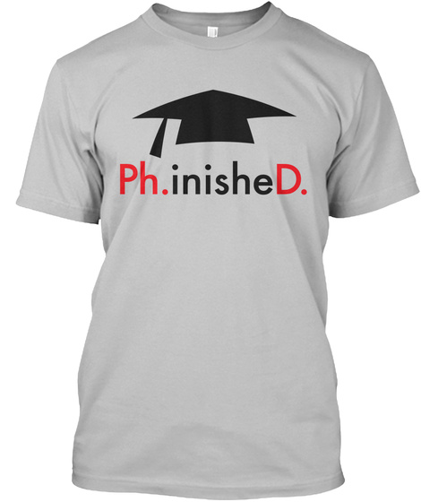 Ph.Inished. Sport Grey T-Shirt Front