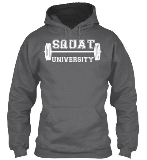 Squat University Dark Heather Sweatshirt Front