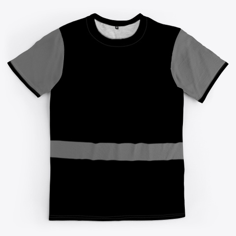 Antoine Maurice King Black/Grey Tee Standard T-Shirt Front