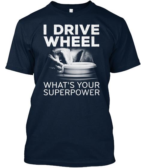 Pottery Wheel! Shirt New Navy T-Shirt Front