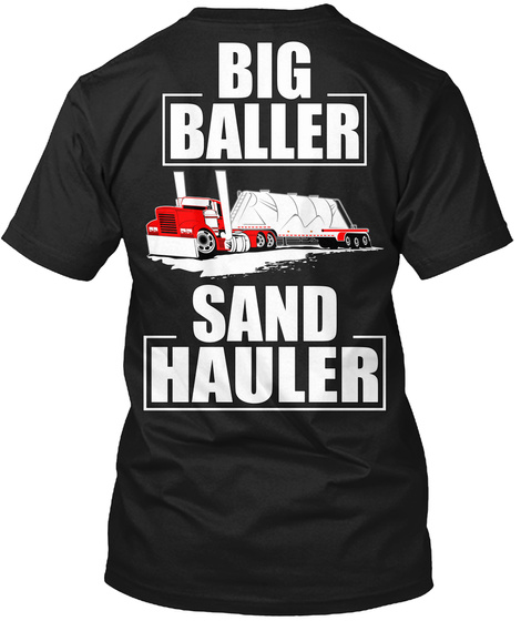 Big Baller Sand Hauler Black Kaos Back