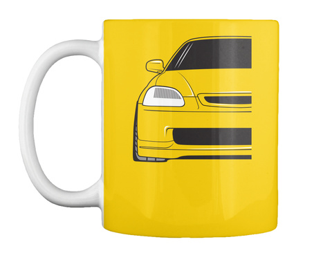 6th Gen Mugs Lemon Yellow T-Shirt Front