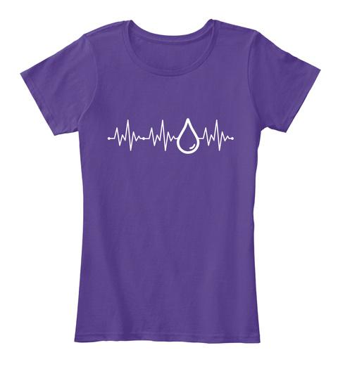 Peppermint Jasmine Basil Fennel Cedarwood Citronelladill Frankincense Ocotea Geranium Ginger Yiang Yiang Purple T-Shirt Front