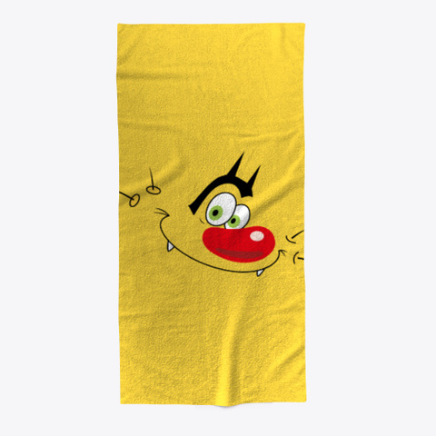 Oggy Classic  Yellow T-Shirt Front