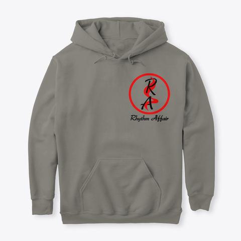 Hoodie Rhythm Affair Charcoal T-Shirt Front