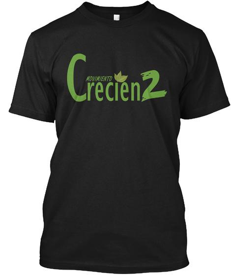 Crecienz Movimiento Black Camiseta Front