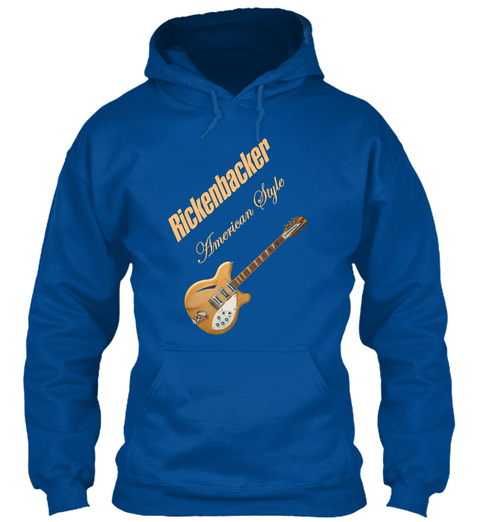 Rickenbacker Natural 12 S American Style Royal T-Shirt Front