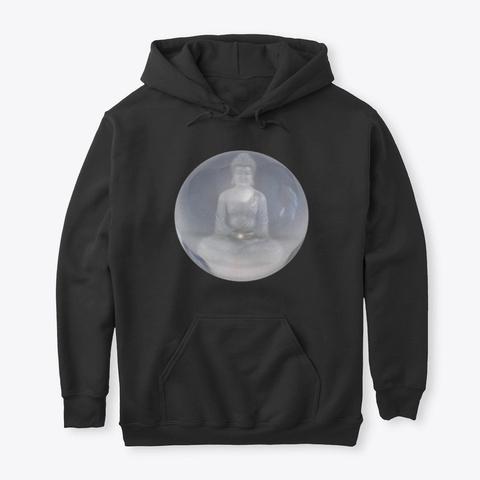 (The Hidden Soul)  Meditate  Black T-Shirt Front